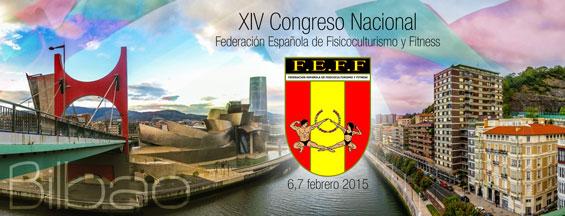 XIV Congreso de la Federación Española de Fisicoculturismo y Fitness en Bilbao 2015