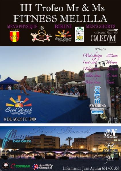 Circuito de Verano FAFF 2015; Mr y Ms Melilla Resultados